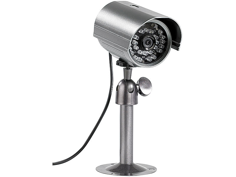 visortech nachtsicht berwachungskamera mit endlos. Black Bedroom Furniture Sets. Home Design Ideas