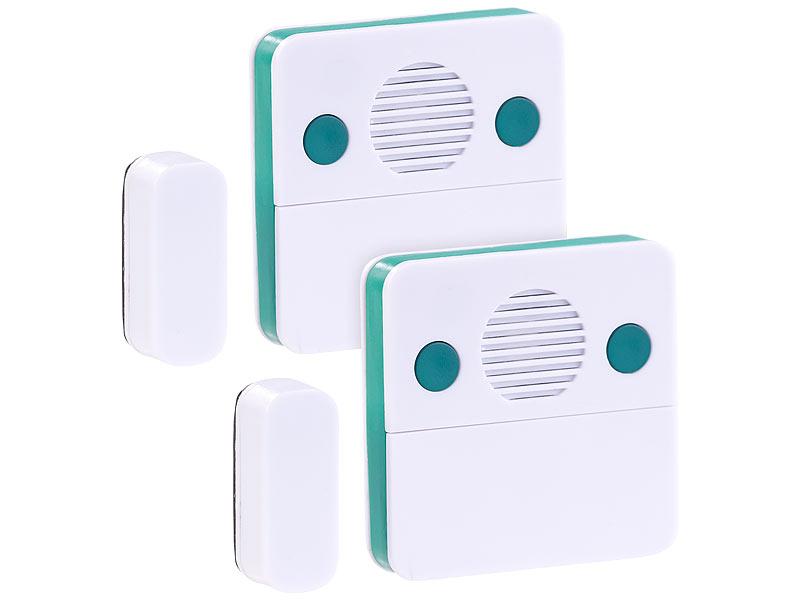Kühlschrank Alarm Offene Tür : Visortech er set universal türschließ erinnerungs alarm