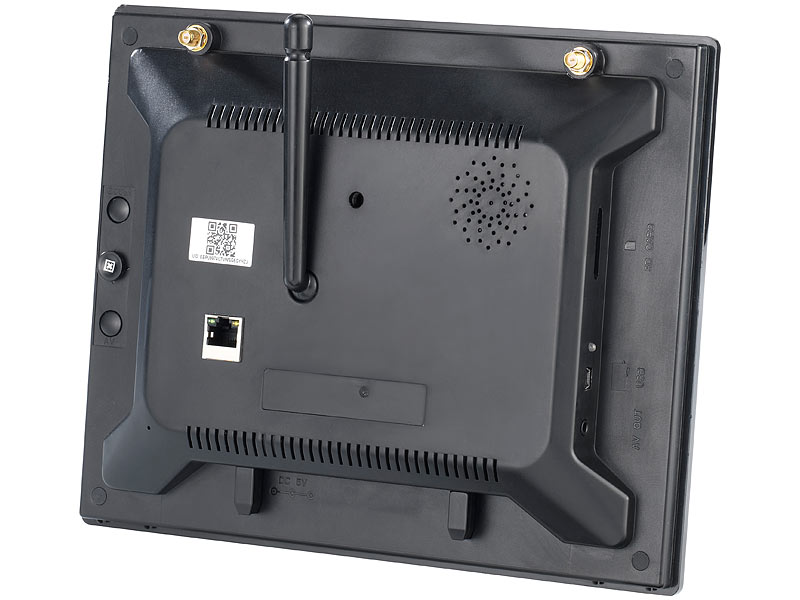 VisorTech Überwachungsmonitor DSC-720.mc mit SD-Recording, IP ...