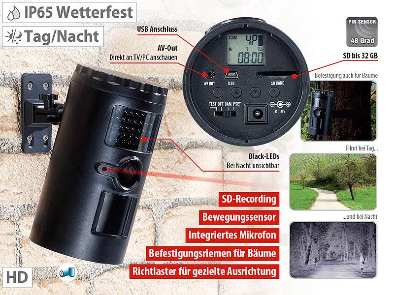 visortech wetterfeste hd berwachungskamera irc 100 mit. Black Bedroom Furniture Sets. Home Design Ideas