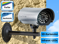 VisorTech Camera de Surveillance Sur Carte SD