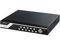 VisorTech Überwachungs-Recorder DVR-6008 H.264 für 8 PTZ (refurbished)