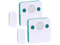 Kühlschrank Alarm Offene Tür : Visortech 2er set universal türschließ erinnerungs alarm 15 30 sek
